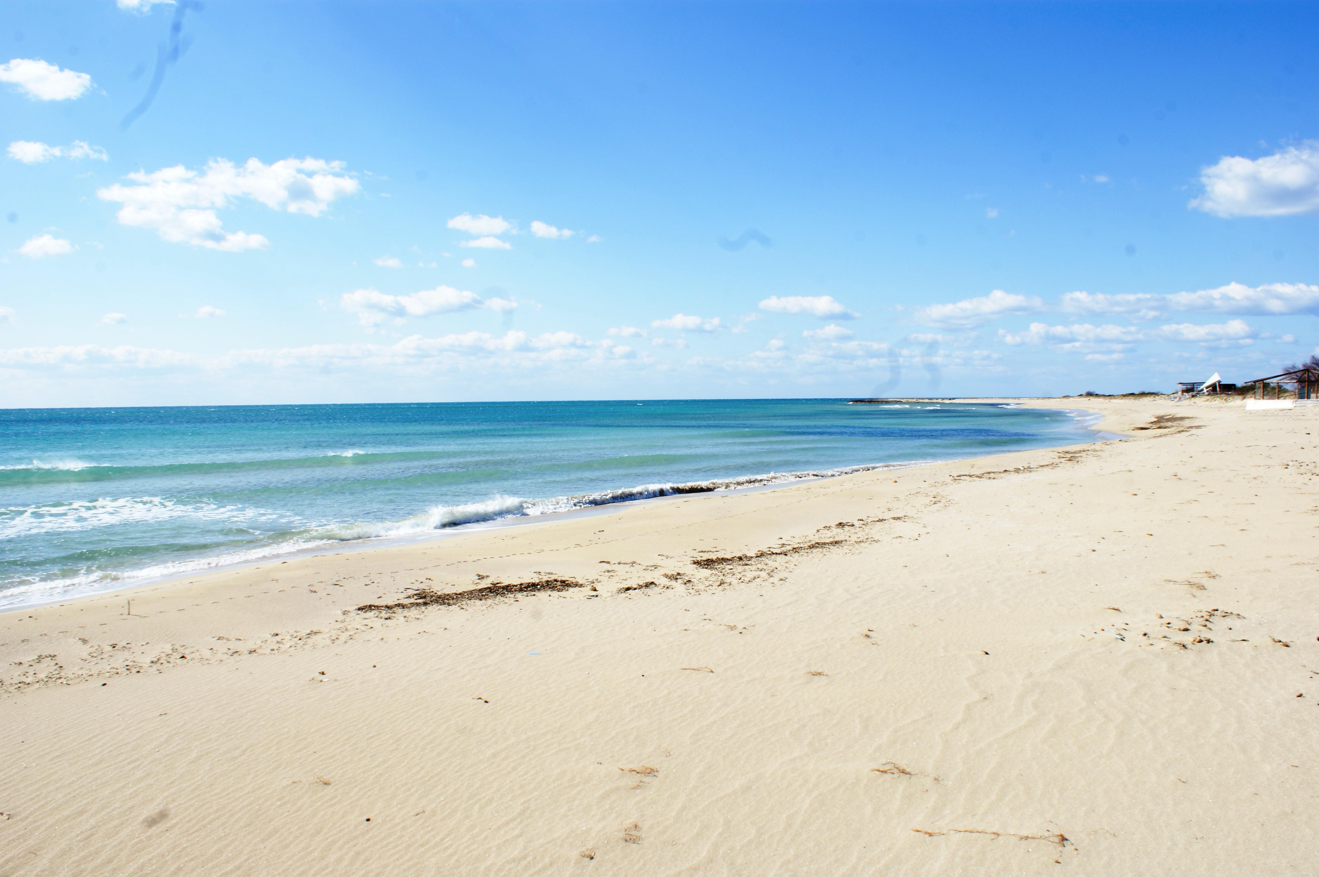 spiaggia dorata a lido marini